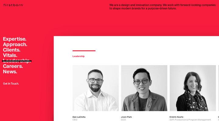 Firstborn.com - Leadership