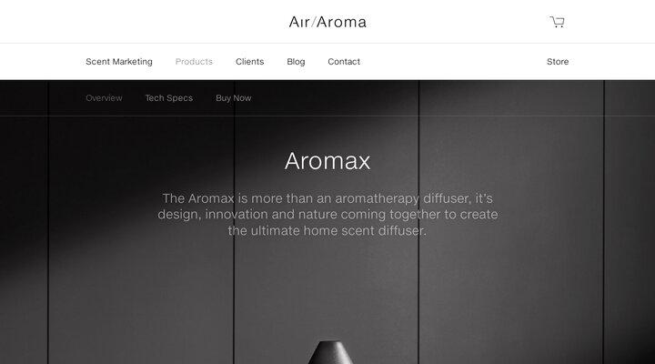 Aromatherapy Diffuser - Aromax - Air Aroma