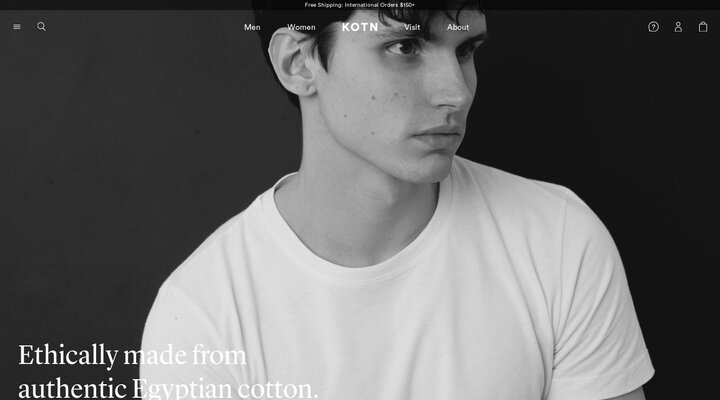 Kotn - Everyday essentials ethically sourced from Egyptian cotton