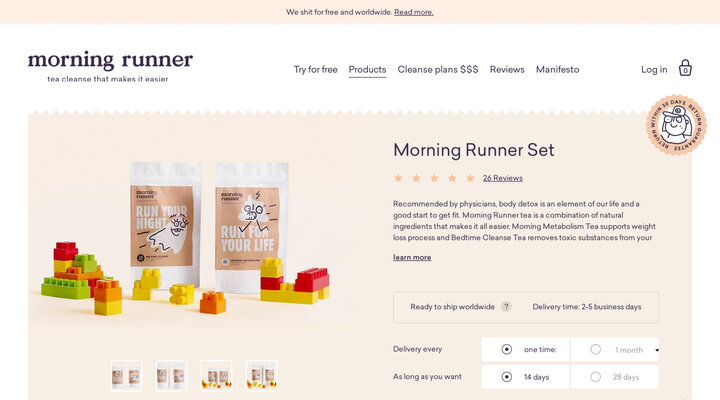Morning Runner Set