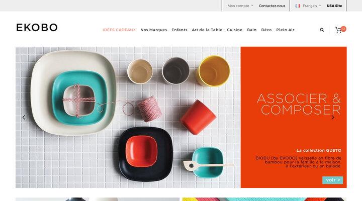 Art de la table, Accessoires pour Cuisine et Bain - Matériaux Écologiques | EKOBO - EKOBO