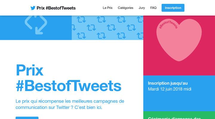 Prix #BestofTweets