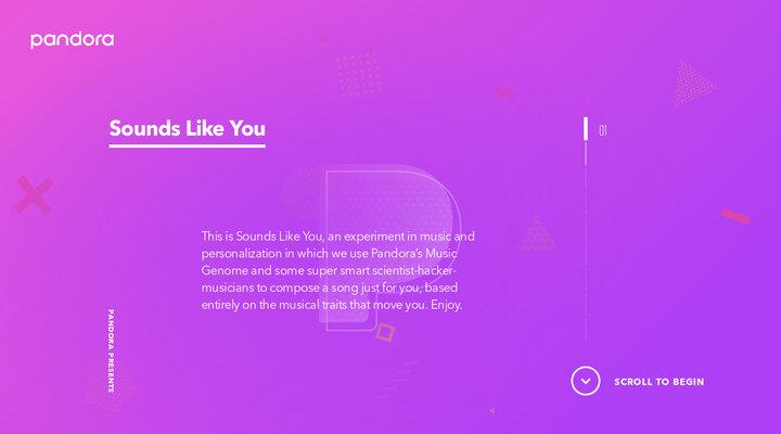 Sounds Like You - Pandora