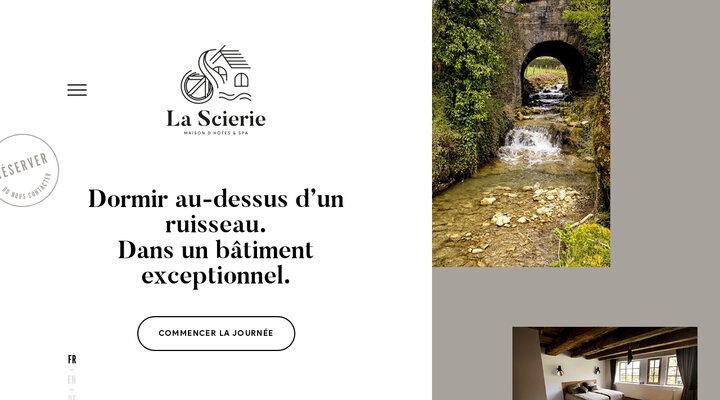 La Scierie : Chambres d'hôtes & Spa | B&B à Salins, Jura