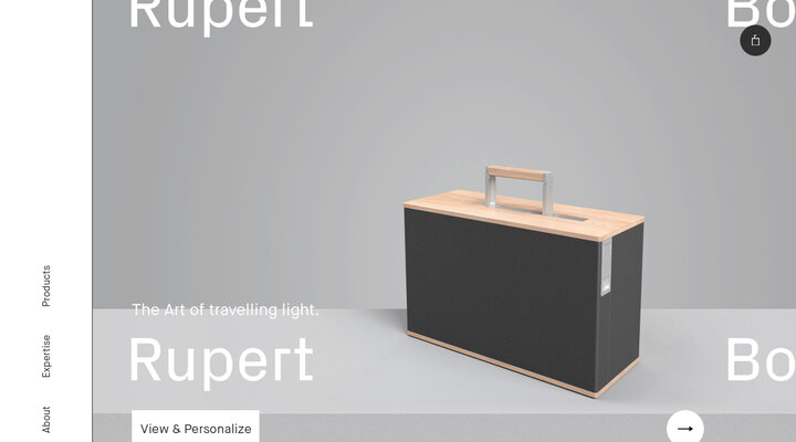 Charles Simon – Luxury luggage
