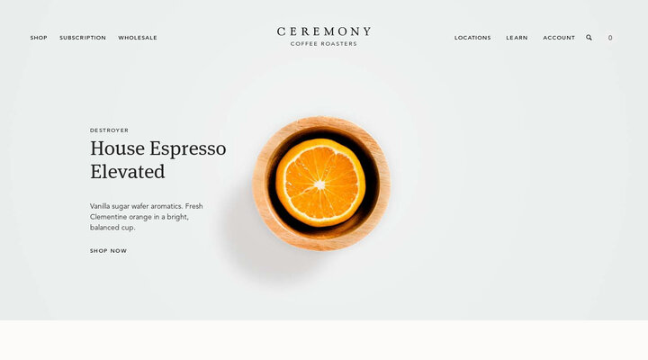Ceremony Coffee Roasters: Order Coffee, Find Cafés, Shop Gear, Learn
