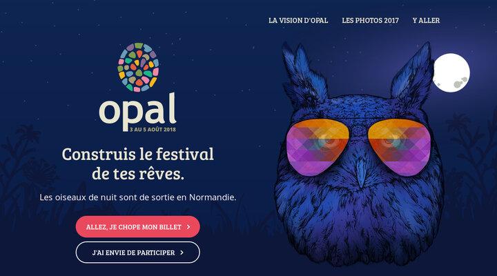 Opal 2018 - Crée le Festival des tes Rêves