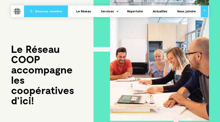 Réseau COOP — La Fédération des coopératives gérées par les travailleurs au Québec