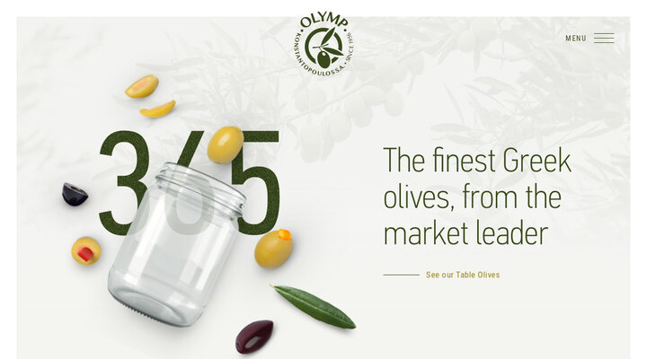 The Finest Greek Olives, From the Market Leader | Konstantopoulos S.A. Olymp