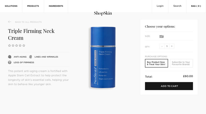 Triple Firming Neck Cream – ShopSkin