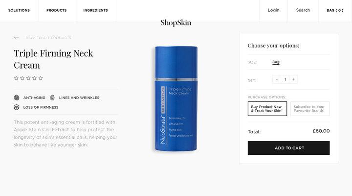 Triple Firming Neck Cream – ShopSkin