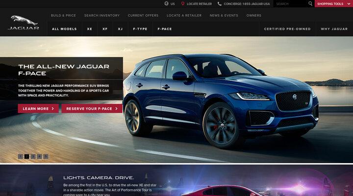 Jaguar: Luxury Cars & Sports Cars  | Jaguar USA