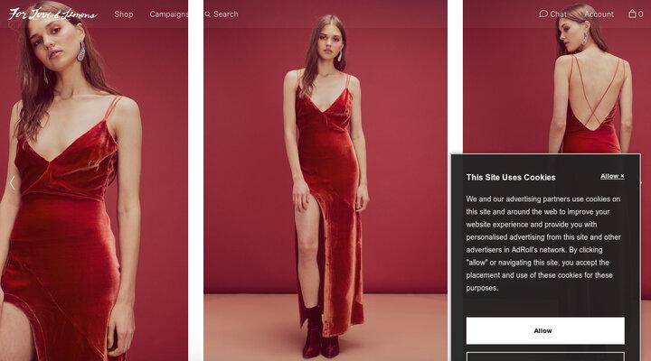 Nadine Velvet Maxi Dress              – For Love & Lemons