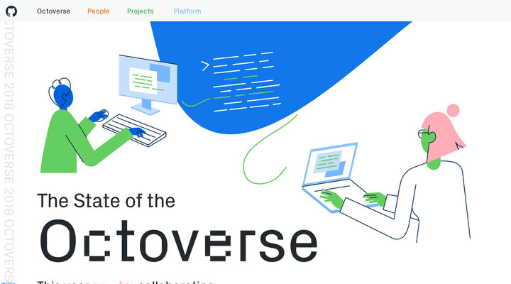 The State of the Octoverse | The State of the Octoverse reflects on 2018 so far, teamwork across time zones, and 1.1 billion contributions.