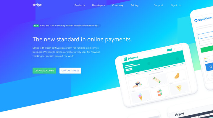 Stripe - Online payment processing for internet businesses | France
