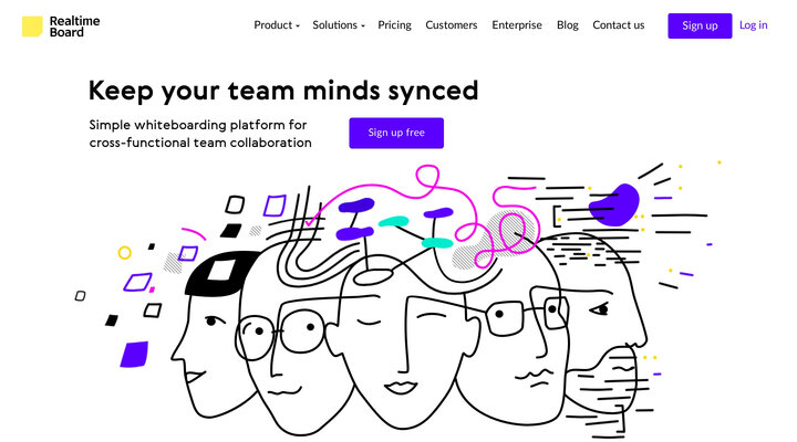 Online Whiteboard & Visual Collaboration Platform for Teams