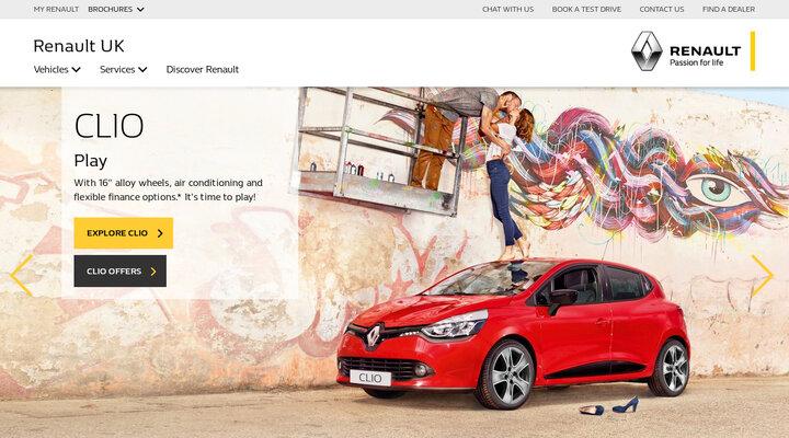 Renault UK official website | New cars & vans | Passion for life | Renault UK
