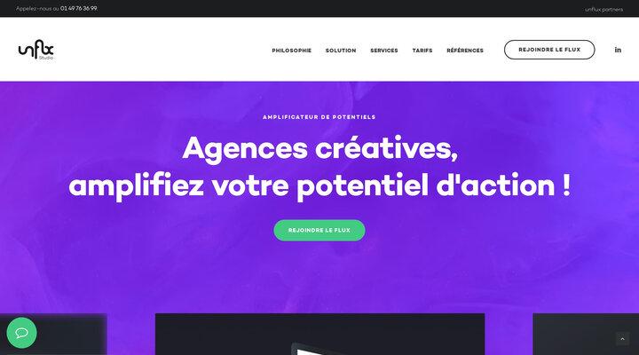 Agences créatives, amplifiez votre potentiel d'action ! — unflux studio