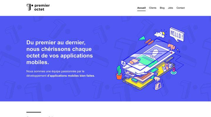 Premier Octet - Agence de développement d'applications mobiles bien faites