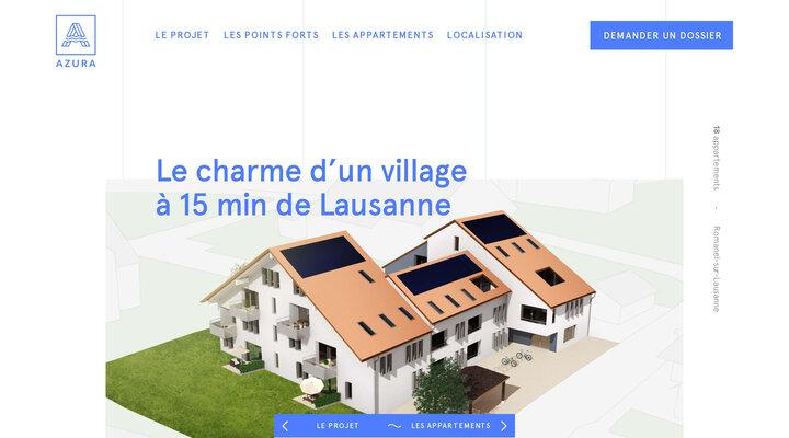 Promotion immobilière Azura à Romanel