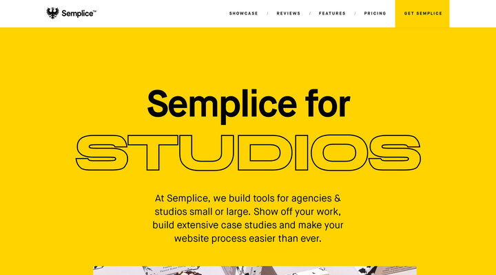 Semplice - Create a Custom Site for Your Agency or Studio