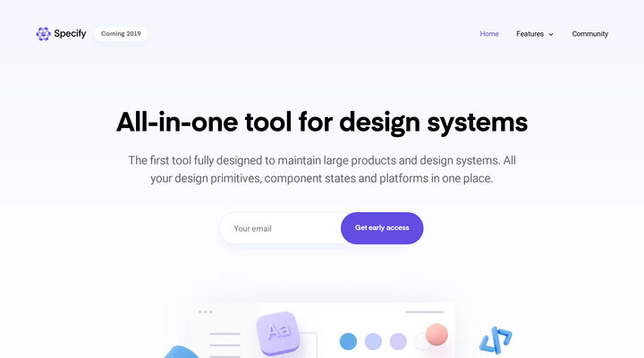 Specify — All-in-one tool for design systems