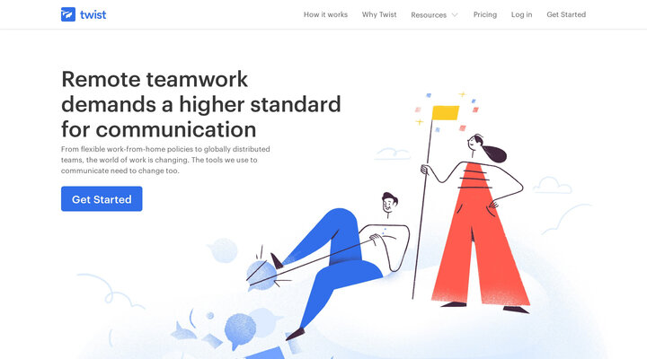 Twist – A Team Communication App For Remote Work