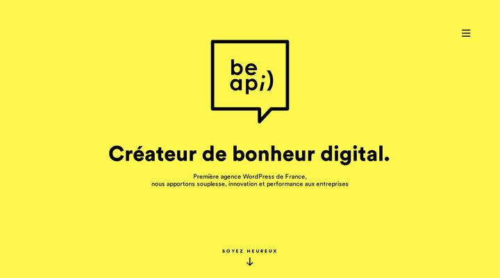 Agence WordPress à Paris | Be API