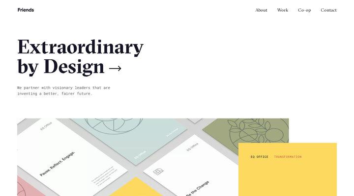 Friends, a collaborative design company.