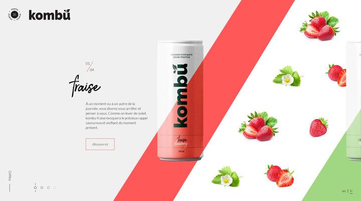 Kombu | Boisson vivifiante à base de thé