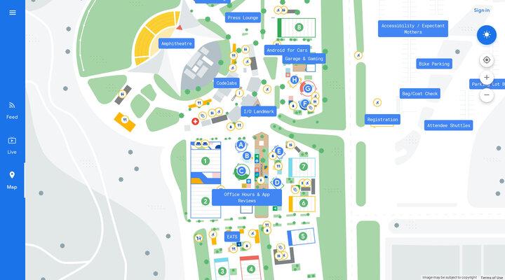 Map - Google I/O 2019