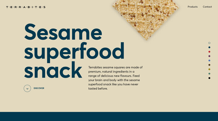 Sesame superfood snack | Terrabites