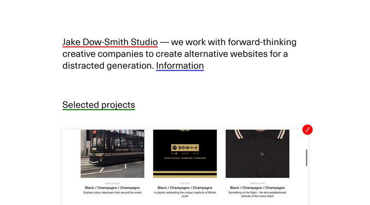 Jake Dow-Smith Studio