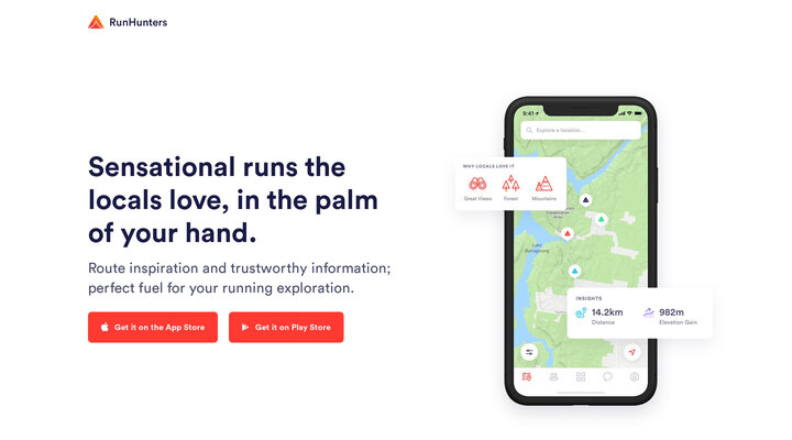 RunHunters | For runners who love to explore
