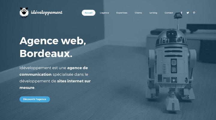 Agence web Bordeaux : création site internet | idéveloppement