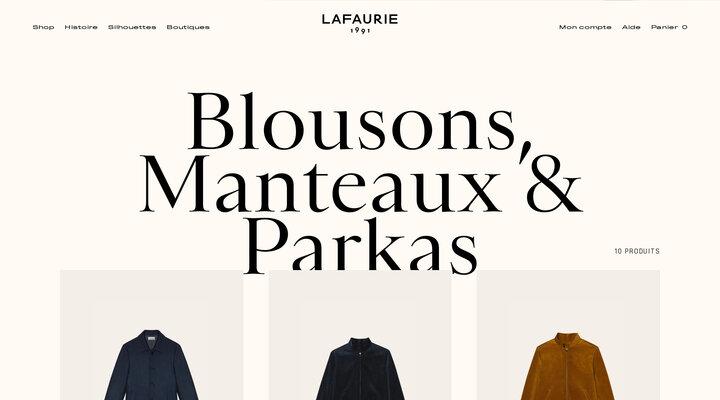 Blousons, Manteaux & Parkas – LAFAURIE