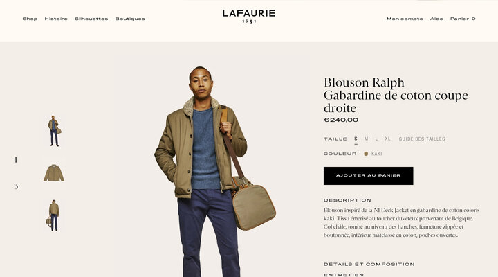 Blouson Ralph – LAFAURIE