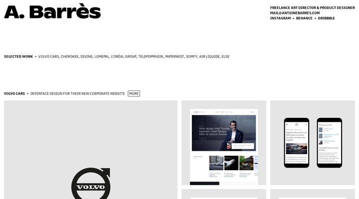 Antoine Barrès — Art Director & User Interface Designer
