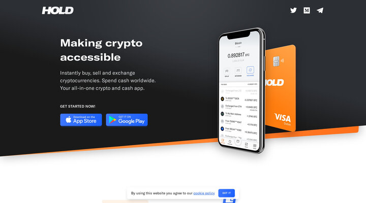 HOLD - Making crypto accessible