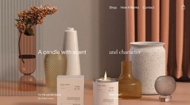 Changes Candles