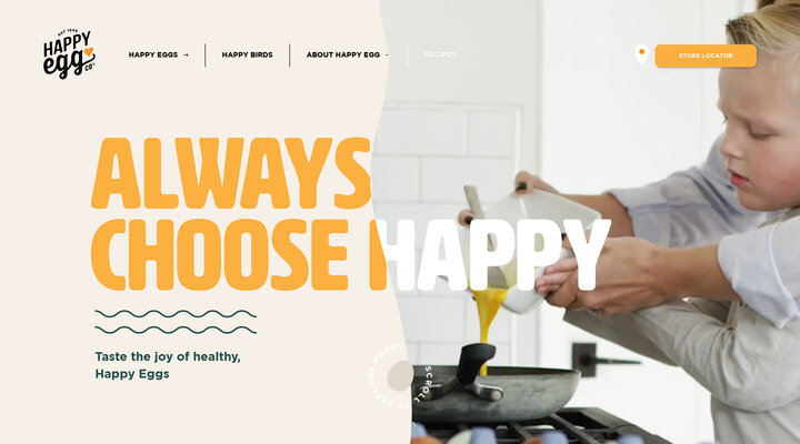 Free Range Eggs | Always Choose Happy