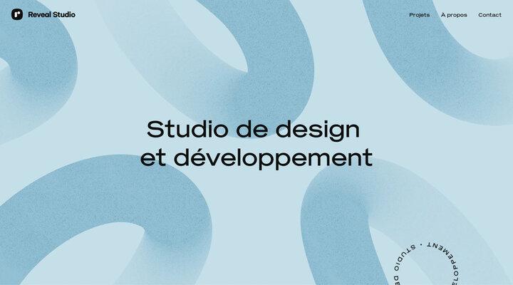 Studio de design & développement | Reveal Studio