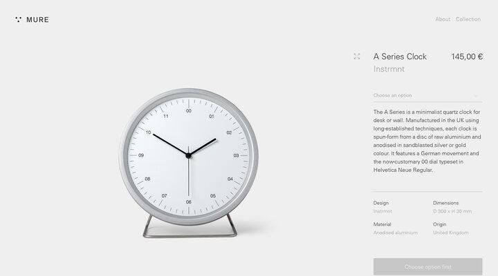A Series Clock - Mure