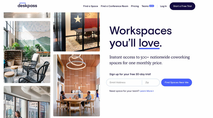 Coworking & Shared Offices | Deskpass