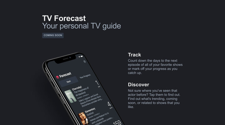 TV Forecast – Coming Soon