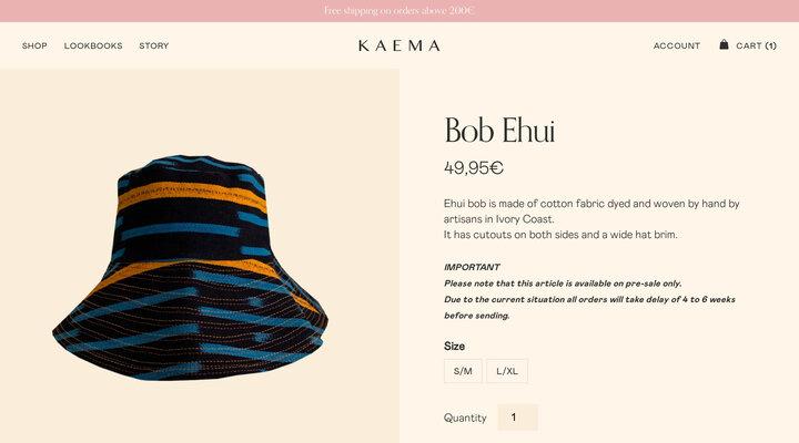 Bob Ehui – Kaema Studio