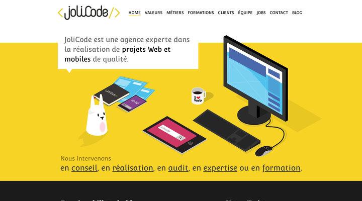 JoliCode - Réalisation de projets Web et mobiles de qualité