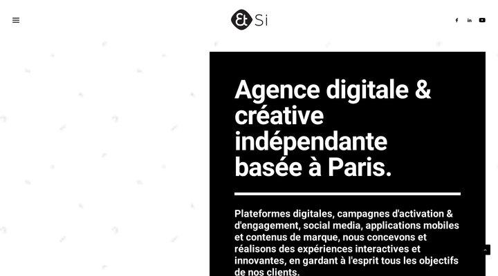 Et Si - Agence digitale et créative de communication basée à Paris