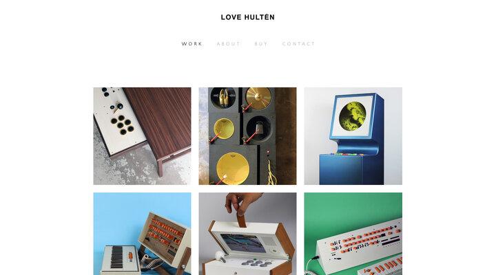 LOVE HULTÉN - W O R K