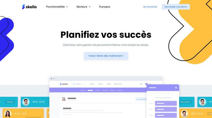 Logiciel de gestion de planning et de personnel en ligne | Skello